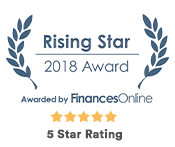 Rising Stars Award - FinanceOnline